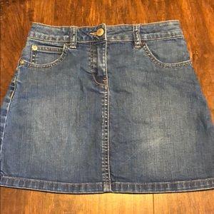 Girls mini Boden skirt size 9-10